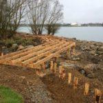 Génie végétal et structure bois (vision bois sous traitant) La Ramée - SO'Paysage