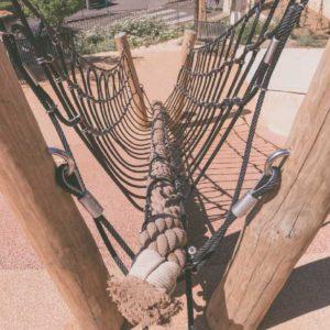 Jardin Cuzin Auch - Jeux cordage